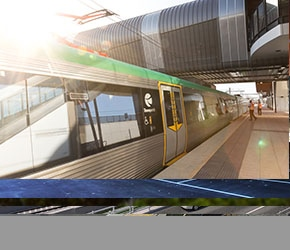 Perth Stadium Station Rail Infrastructure Test