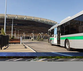 Stadium Bus Station Infrastructure Test
