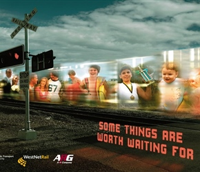 Life before your eyes - Level crossing campaign